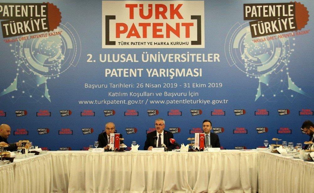 2. Ulusal Üniversiteler Patent Yarışması Başlıyor