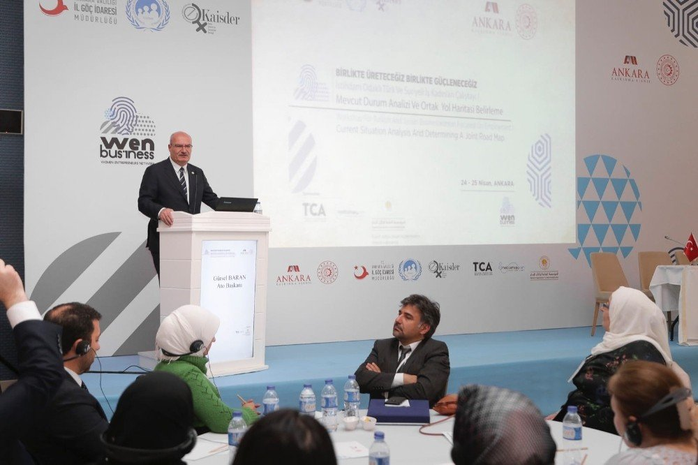 Türk Ve Suriyeli İş Kadınlarından Ortak Çalıştay