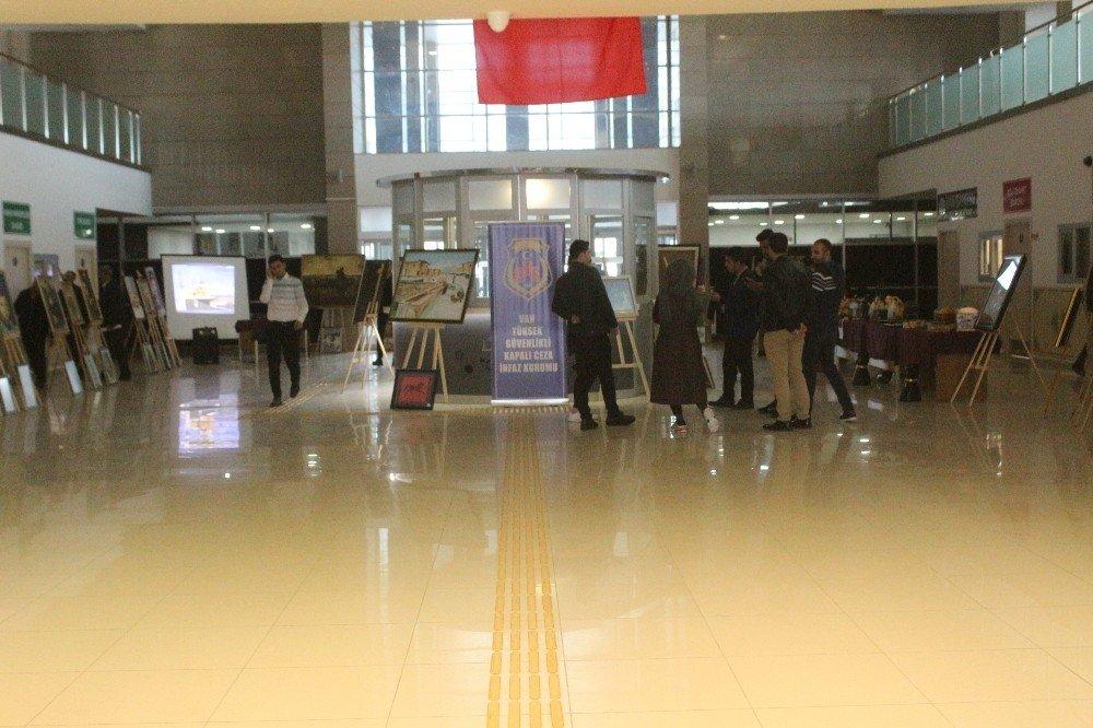 Van'daki Tutuklu Ve Hükümlülerin Sergisine Yoğun İlgi