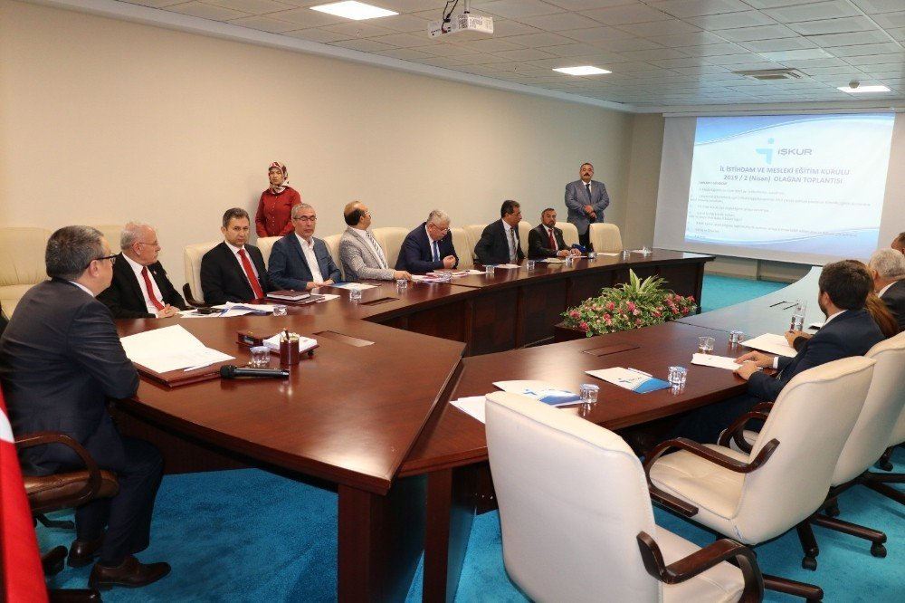 Yozgat'ta İl İstihdam Ve Mesleki Eğitim Kurulu Toplandı