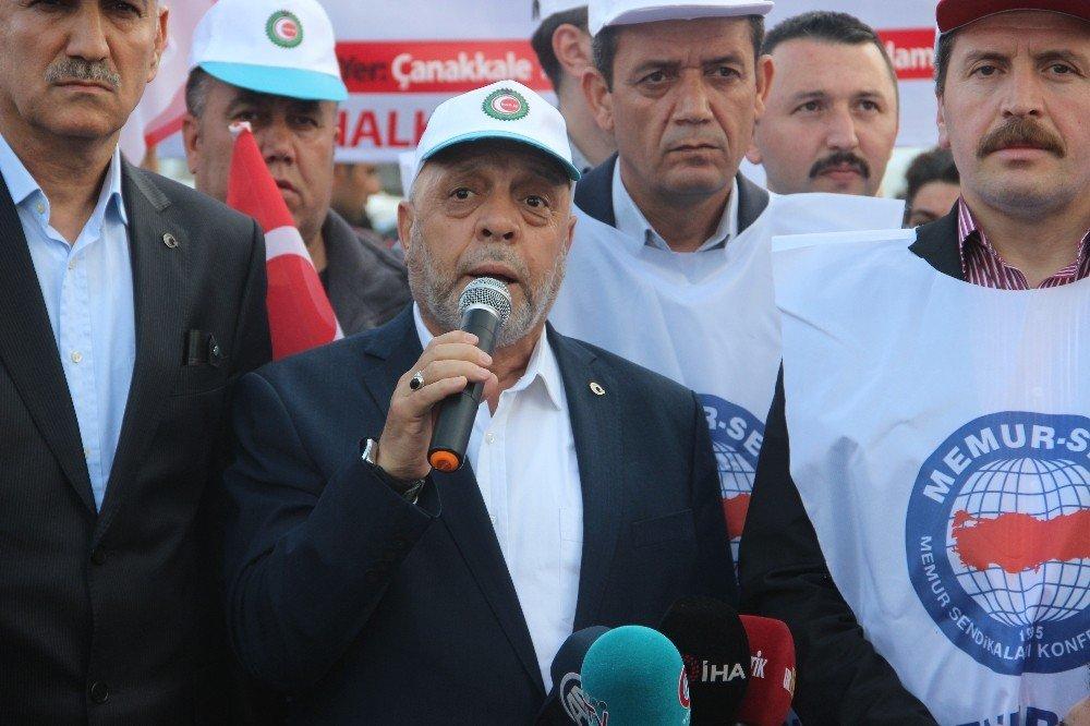 """Hak-iş Genel Başkanı Arslan: """"1 Mayıs'ı Şanlıurfa'da Kutlayacağız"""""""