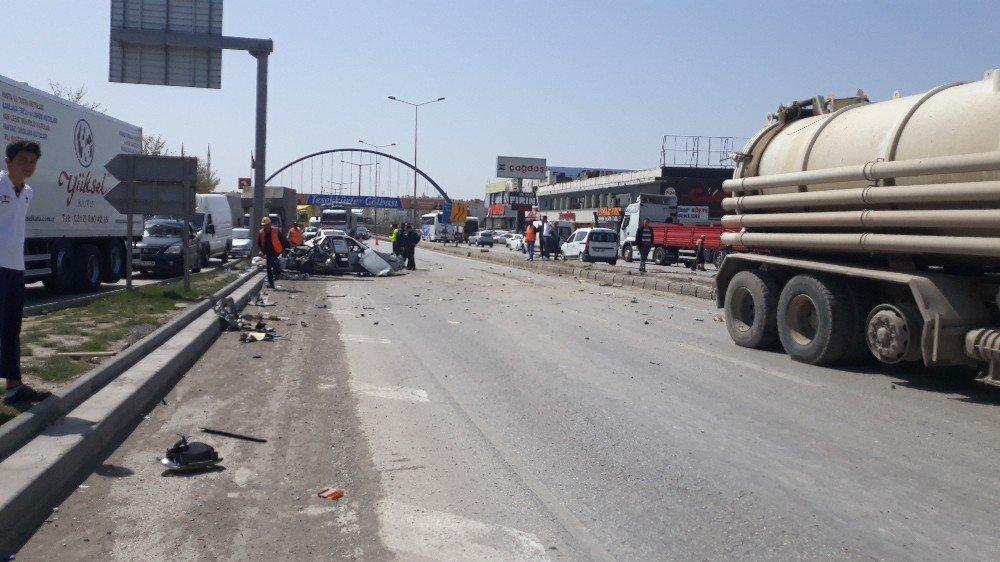 Ankara'da Feci Kaza: 4 Yaralı