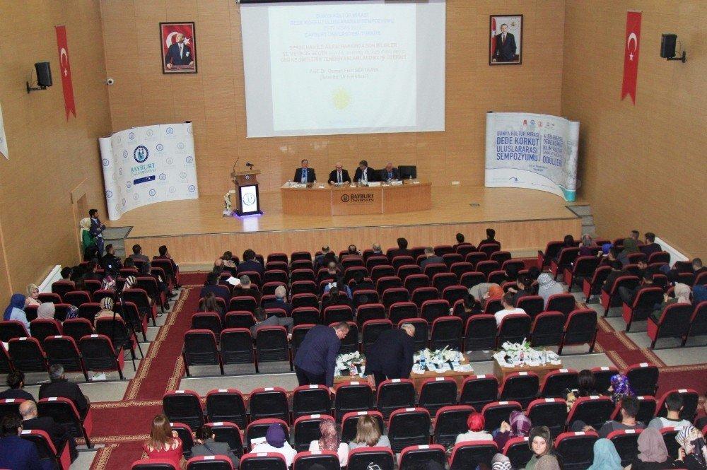 Bayburt Üniversitesi Uluslararası Dede Korkut Sempozyumu Düzenledi