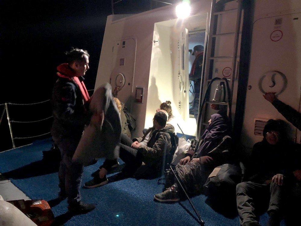 Bodrum'da 10 Mülteci Yakalandı