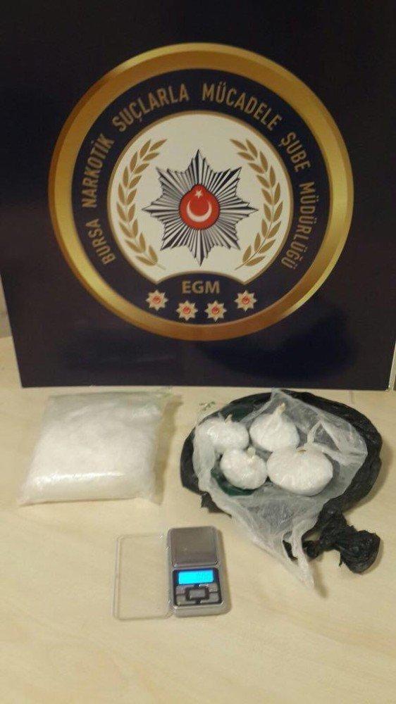 Bursa'da Uyuşturucu Çetesi Çökertildi
