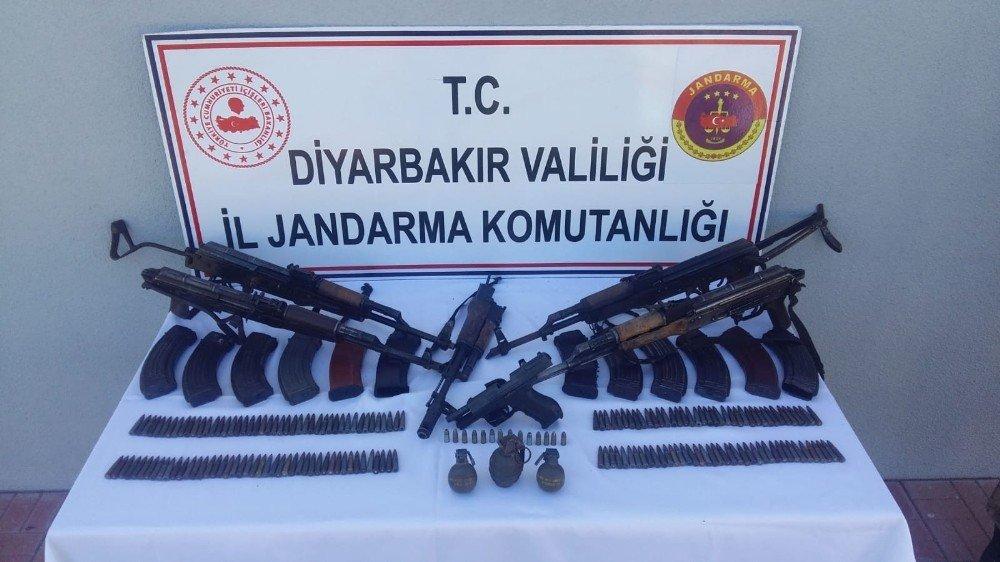 Diyarbakır'da Dev Operasyon 5 Terörist Etkisiz Hale Getirildi