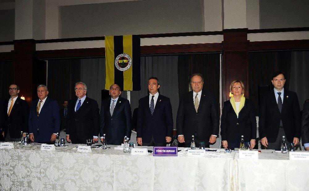 Fenerbahçe Yüksek Divan Kurulu Toplantısı Başladı