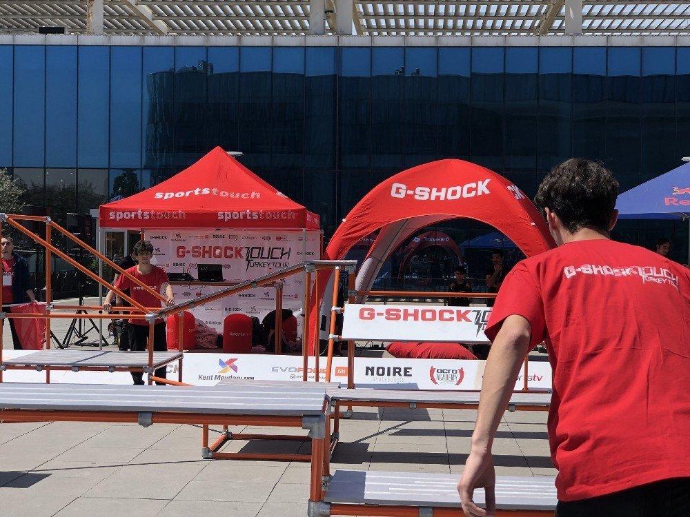 G-shock Touch Turkey Tour Bursa'da Başladı