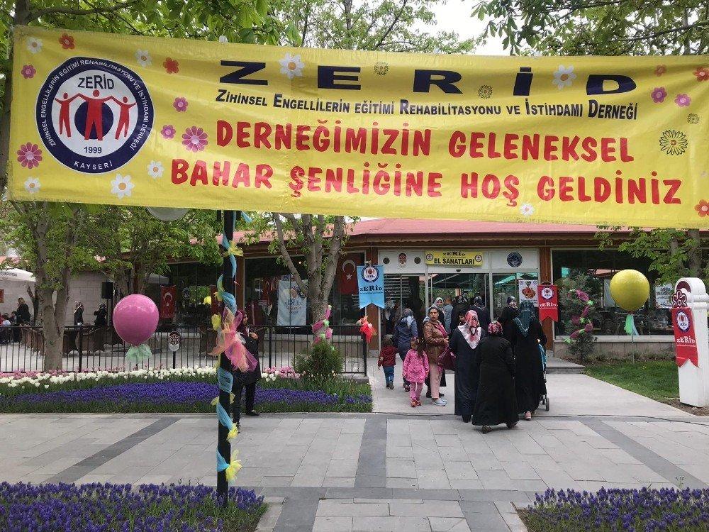 Kayseri Zerid 17. Geleneksel Bahar Şenliği Düzenlendi