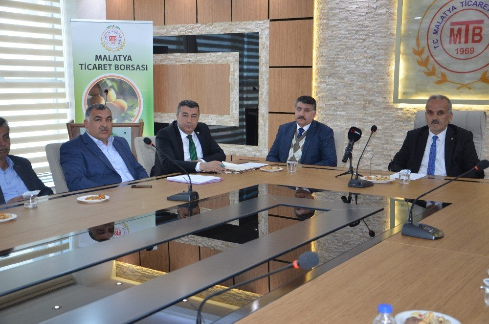 Malatya Ticaret Borsası Nisan Ayı Meclis Toplantısı Yapıldı