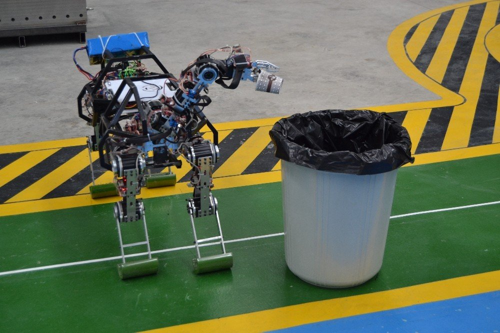 Dört Ayaklı Yerli Ve Milli Robot 'Arat' Araziye Çıktı