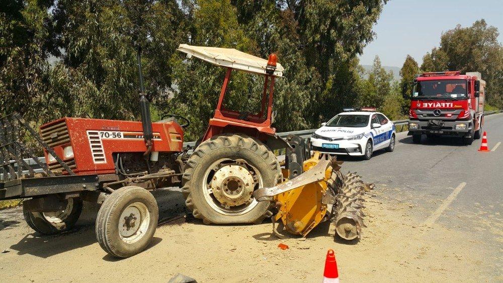 Söke'de Trafik Kazası; 4 Yaralı