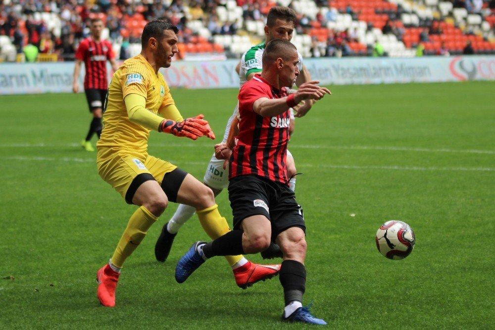 Spor Toto 1. Lig: Gazişehir Gaziantep: 2 - Giresunspor: 2