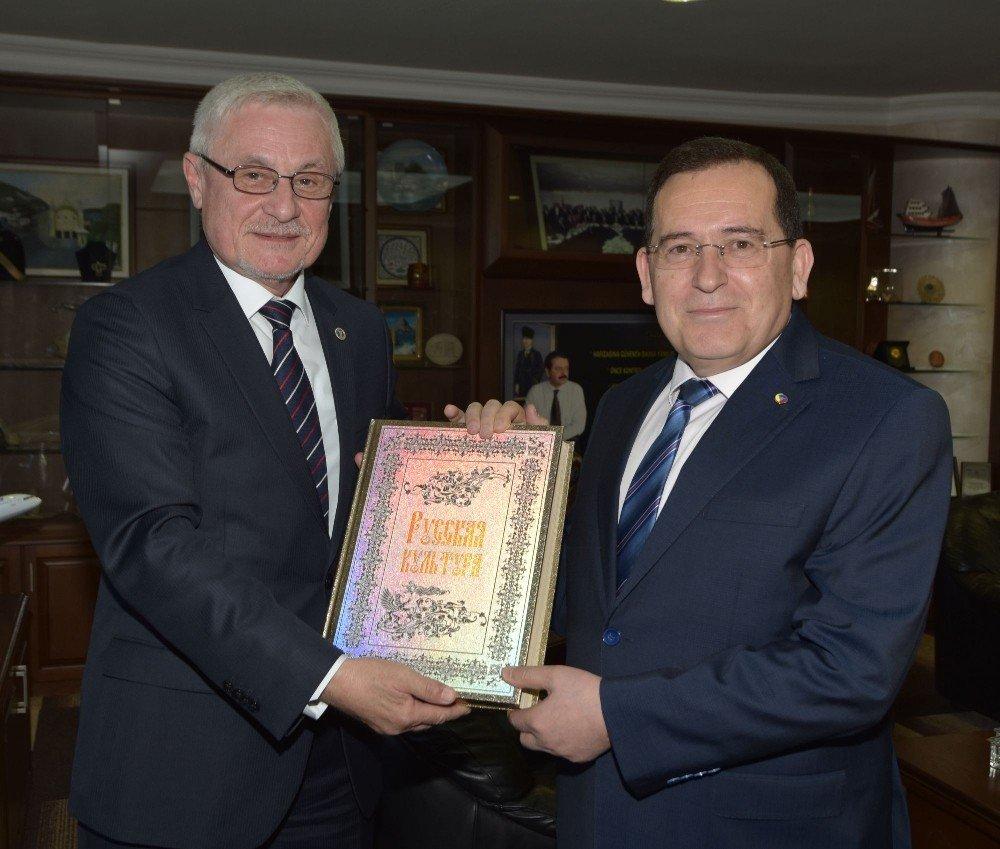 Trabzon İle Soçi Arasında İşbirliği Protokolü İmzalandı
