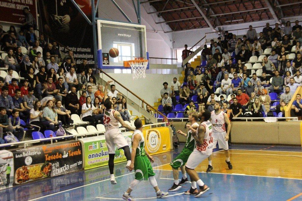 Türkiye Basketbol 1. Ligi: Karesispor: 95 - Bursaspor: 91