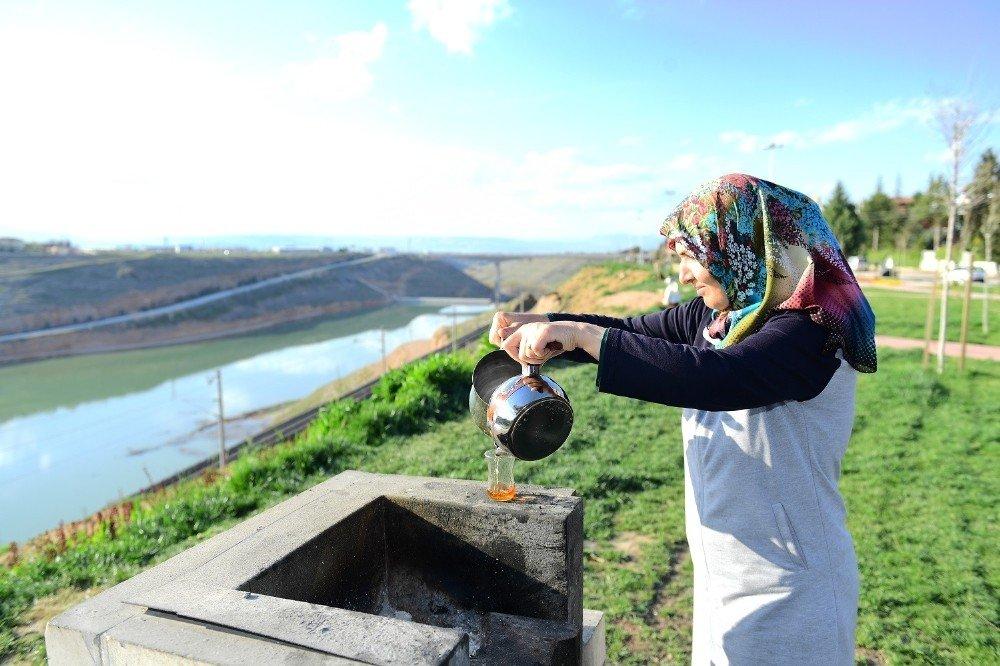 Yeşilyurt'ta 108 Park Kazandırıldı