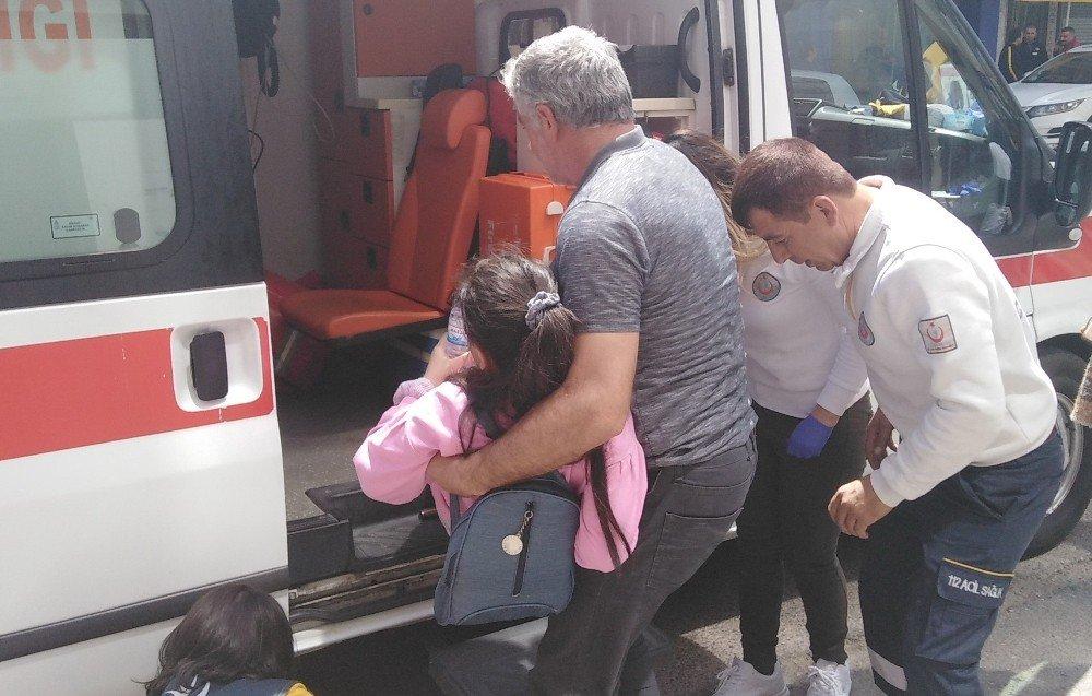 Otomobilin Çarptığı Kız Çocuğu Yaralandı