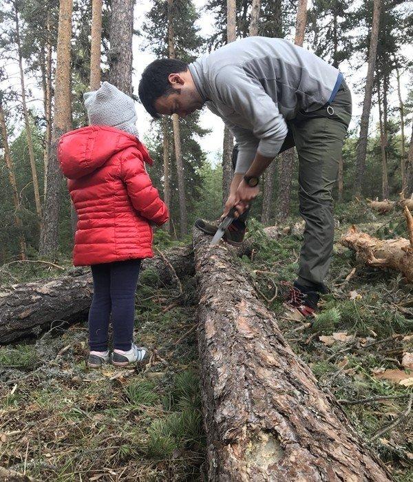 Üveit Hastası, Tedaviyi Küçük Kızıyla Doğada Buldu