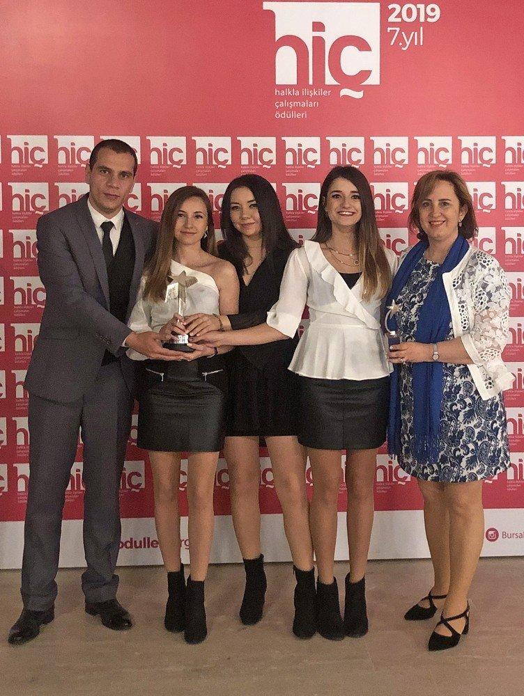 Genç İletişimcilerin Lösev Projesine Ödül