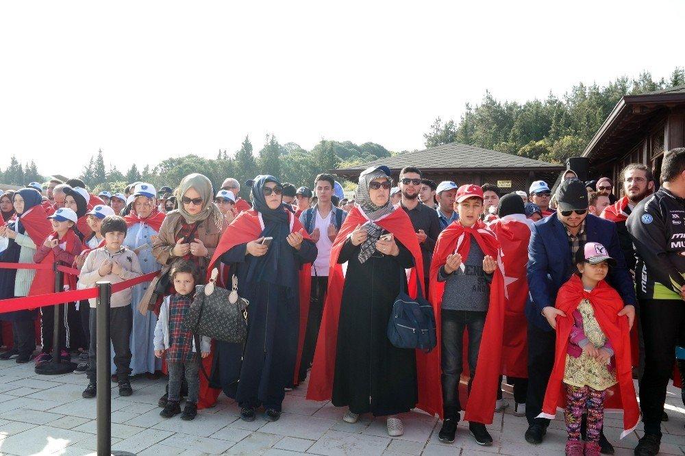 104 Yıl Sonra Aynı Ruhla Çanakkale'de
