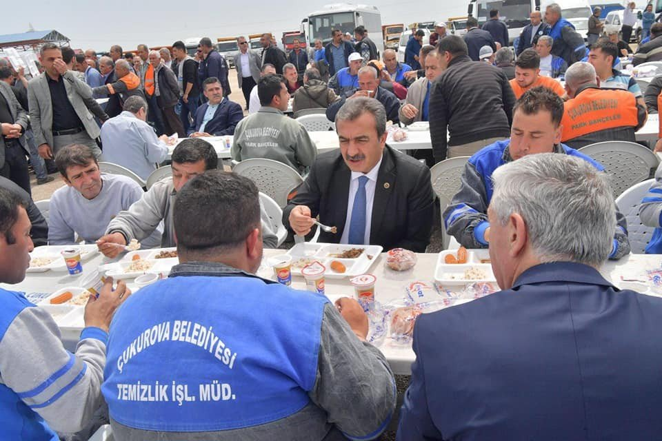 Başkan Çetin İşçilere Teşekkür Etti Fedakarlık İstedi