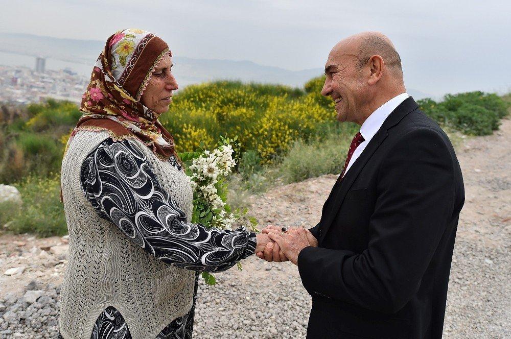 Başkan Soyer'den Kadifekale Ziyareti