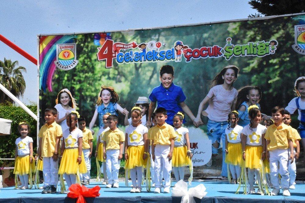 Çocuklar Şenlikte Doyasıya Eğlendi