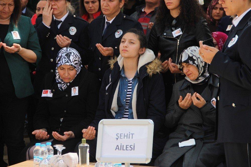 Trafik Kazasında Şehit Olan Polis Memuru İçin Tören Düzenlendi