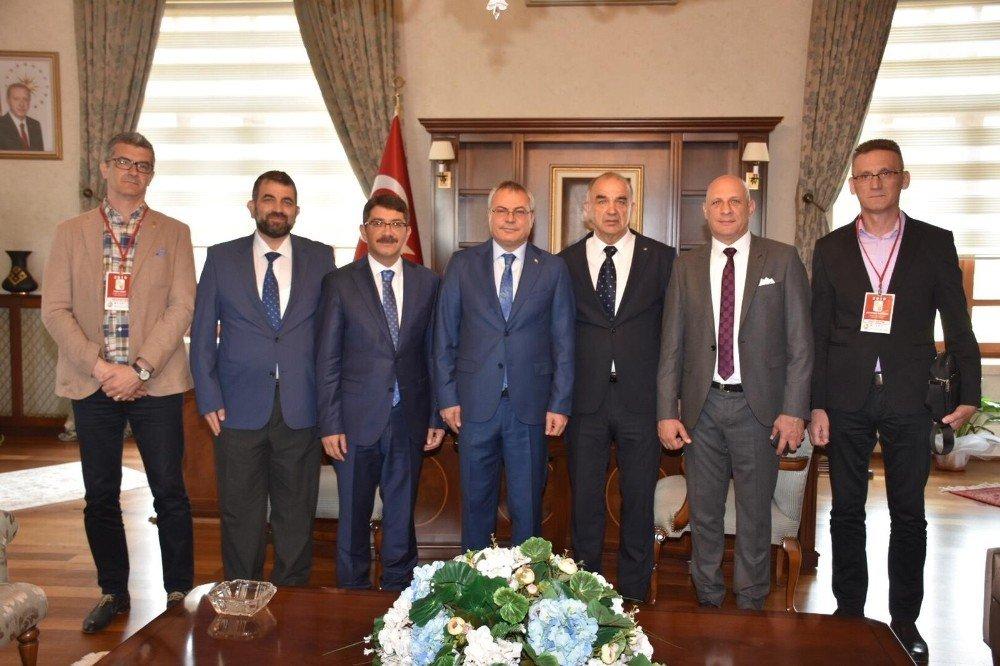 Başkan Çelik Donju Vakuf Heyetini Ağırladı