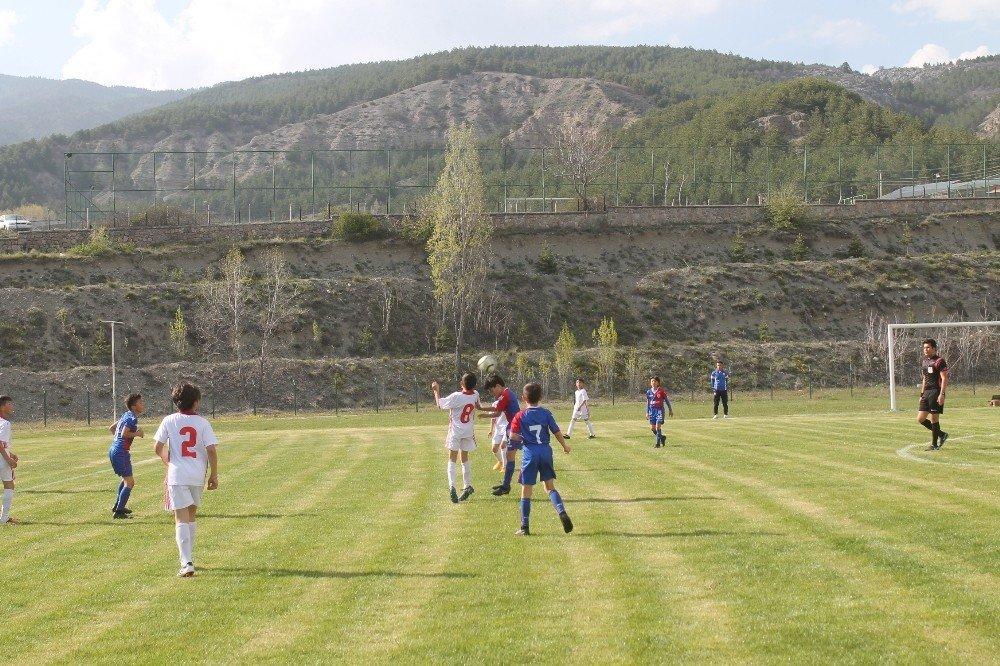 U11 Ligi Tosya Pirinç Kupası İlk Gün Maçları Oynandı