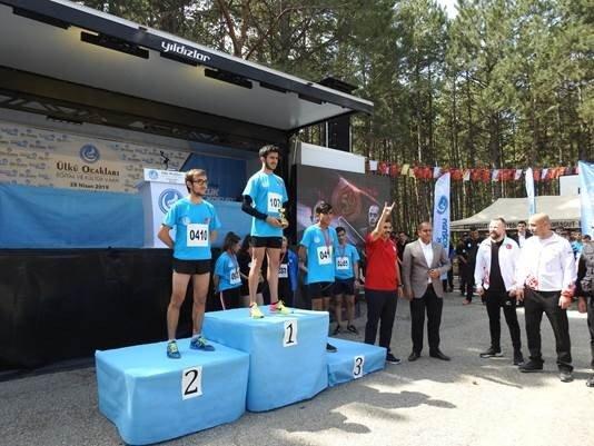 Ülkü Ocakları, Eymir Gölü'nde 'Gençlik Koşusu' Gerçekleştirdi
