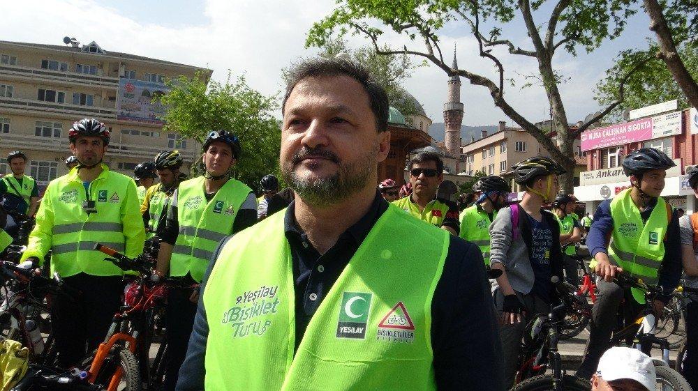 Yeşilay Sağlıklı Yaşam İçin Pedal Bastı