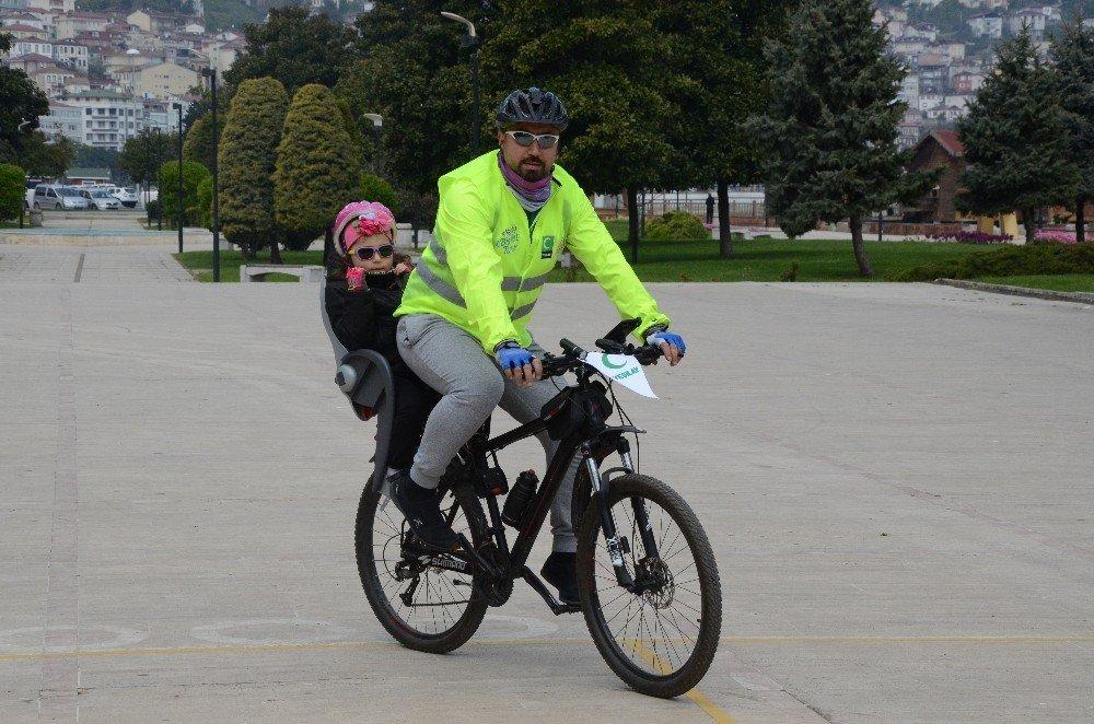 Yeşilay'dan Geleneksel Bisiklet Turu