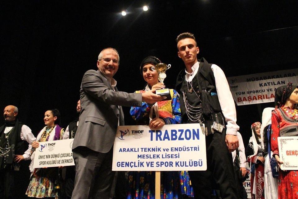 Kulüpler Arası Halk Oyunları Yarışmaları Sona Erdi