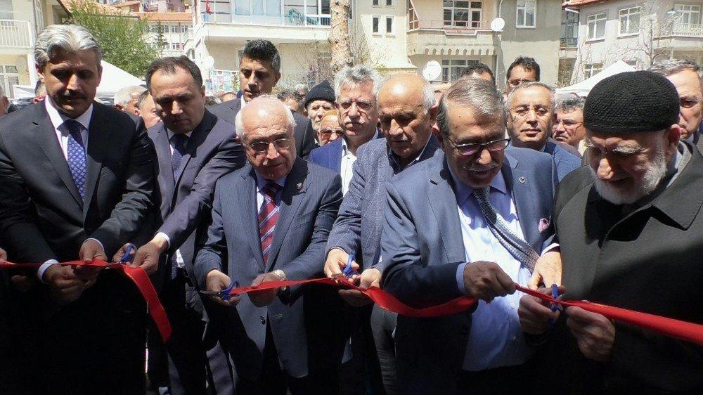 Eski Tbmm Başkanı Çiçek, İmam-ı Azam Mescidi'nin Açılışını Yaptı