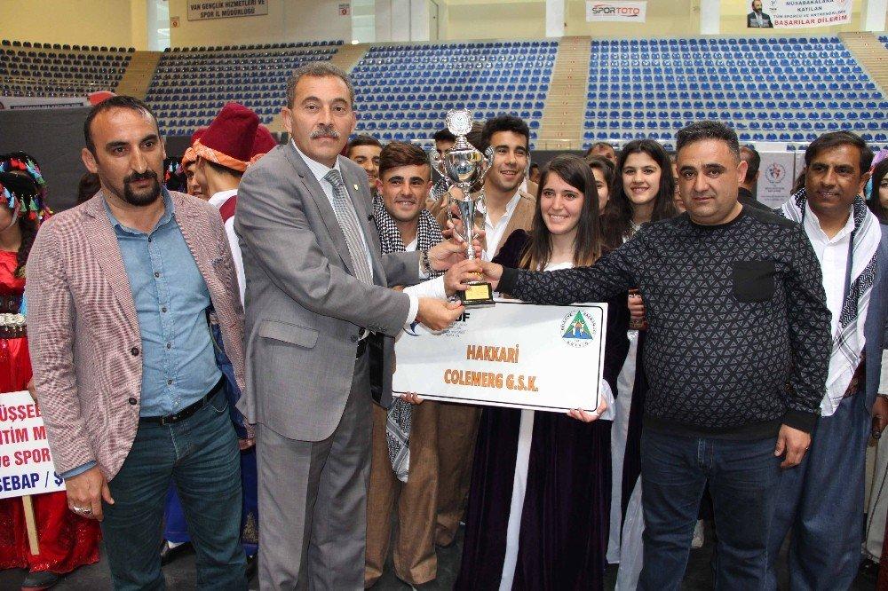 Van'da 'Kulüpler Arası Halkoyunları Bölge Yarışmaları' Sona Erdi