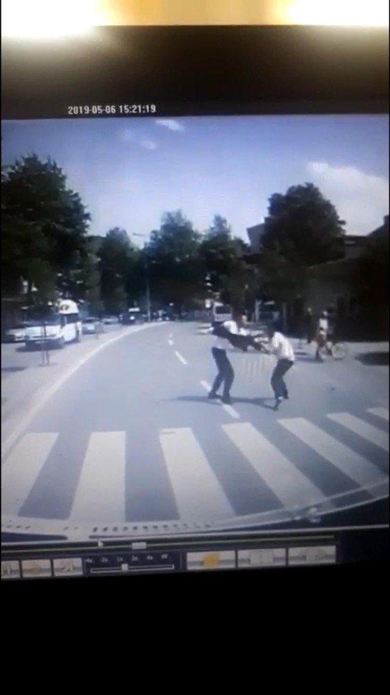 Sakarya'da 1 Kişinin Öldüğü Kavganın Görüntüleri Ortaya Çıktı