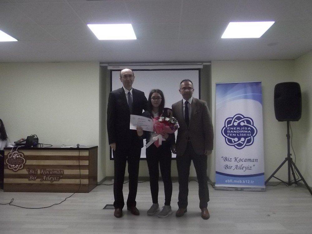 Matematik Dahileri Ödüllerini Aldı