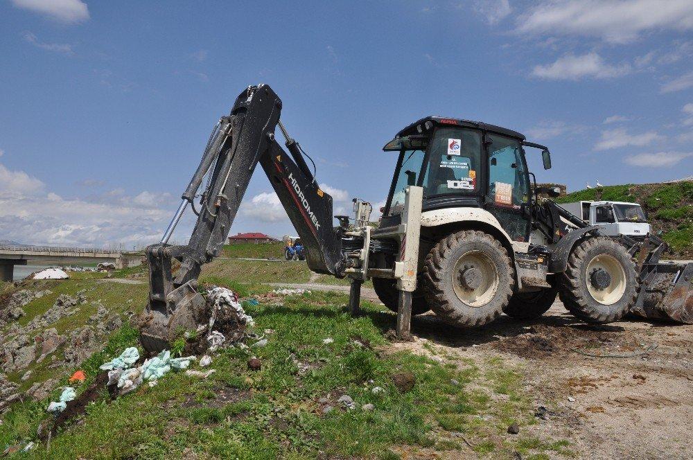 Alparslan-1 Barajında Çevre Temizliği