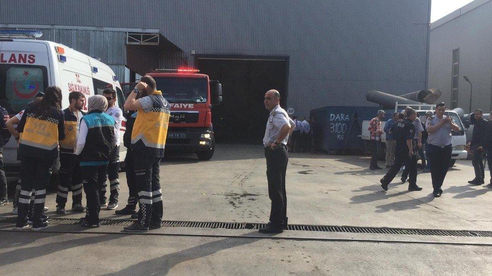 Fabrikada Patlama: 11 Yaralı