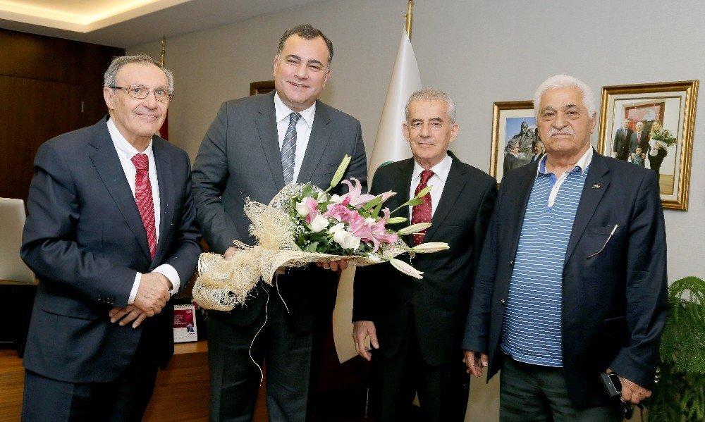 Sivil Toplum Kuruluşlarından Taşdelen'e Tebrik Ziyareti