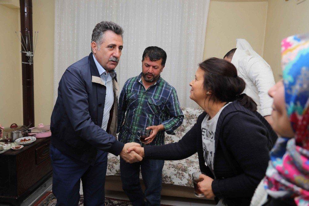 Başkan Sandal'dan İftar Ziyareti