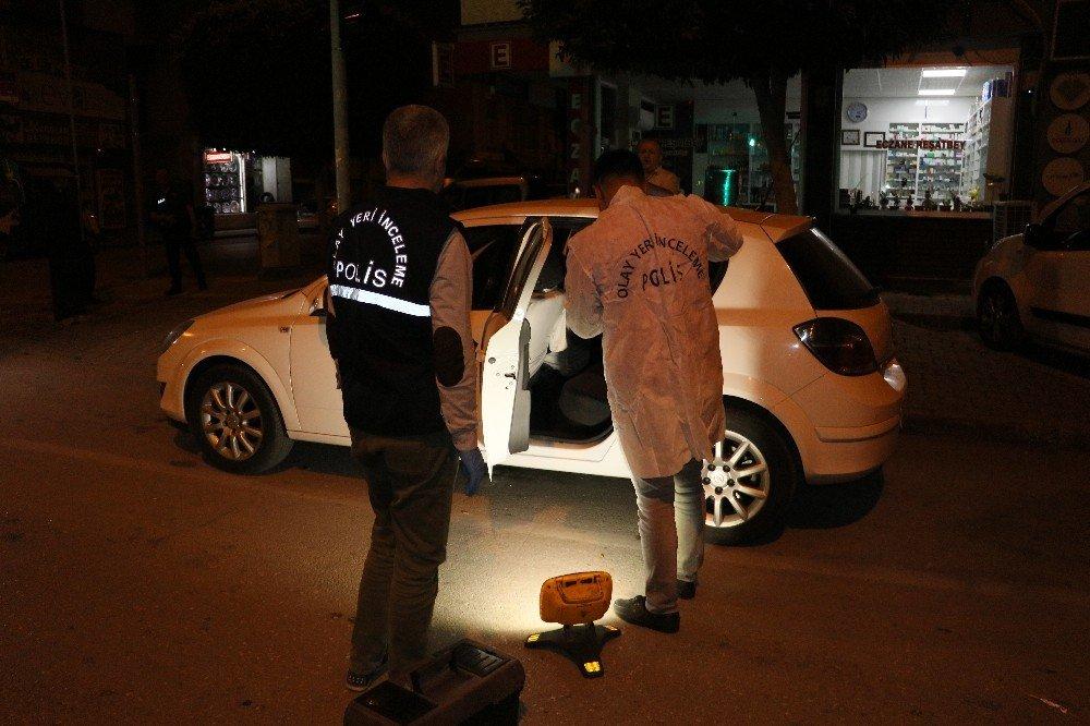 Otomobile Giren Hırsız Suçüstü Yakalandı