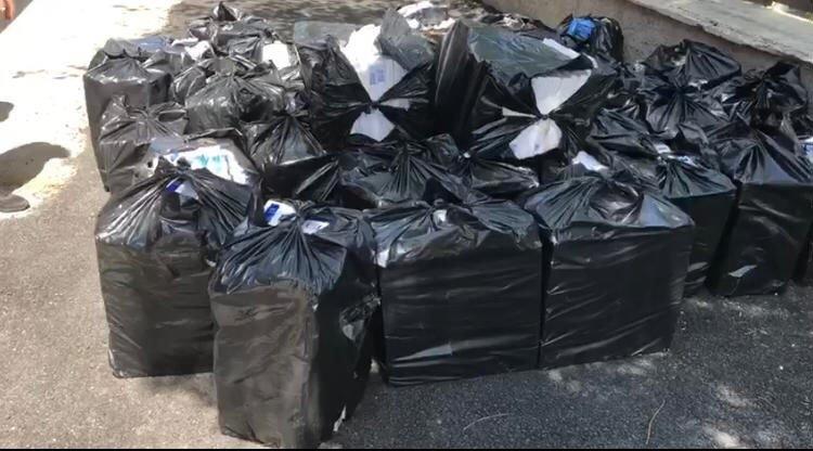 Aksaray'da 18 Bin 100 Paket Kaçak Sigara Ele Geçirildi