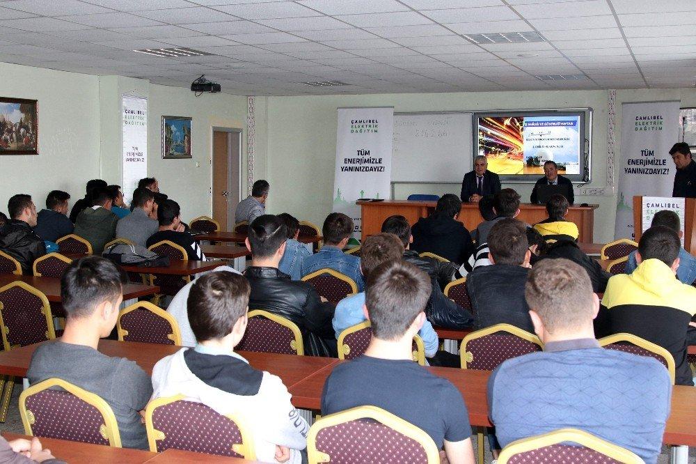Çedaş'tan Öğrencilere İsg Eğitimi