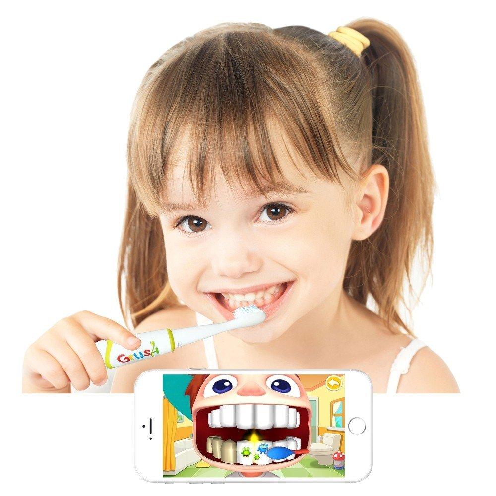 Çocuklar İçin Akıllı Diş Fırçası Üretildi