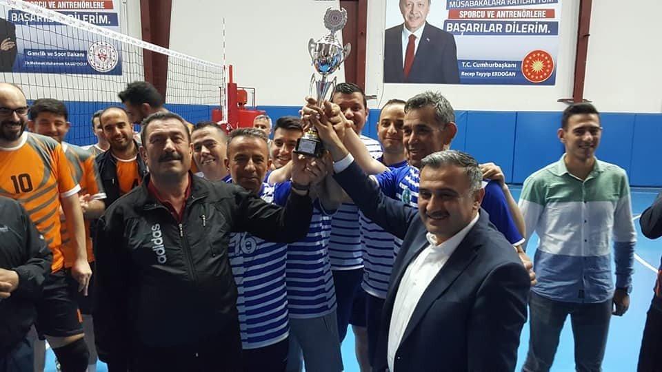 Kurumlar Arası Voleybol Turnuvası Tamamlandı