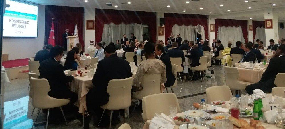 Diyanet İşleri Başkanı Erbaş, İslam Ülkeleri Büyükelçileri İle İftarda Buluştu