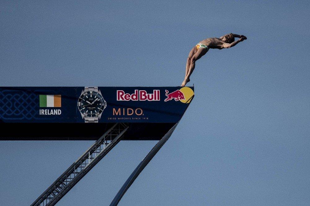 Red Bull Cliff Diving'in Dublin Etabında Seyirci Rekoru Kırıldı