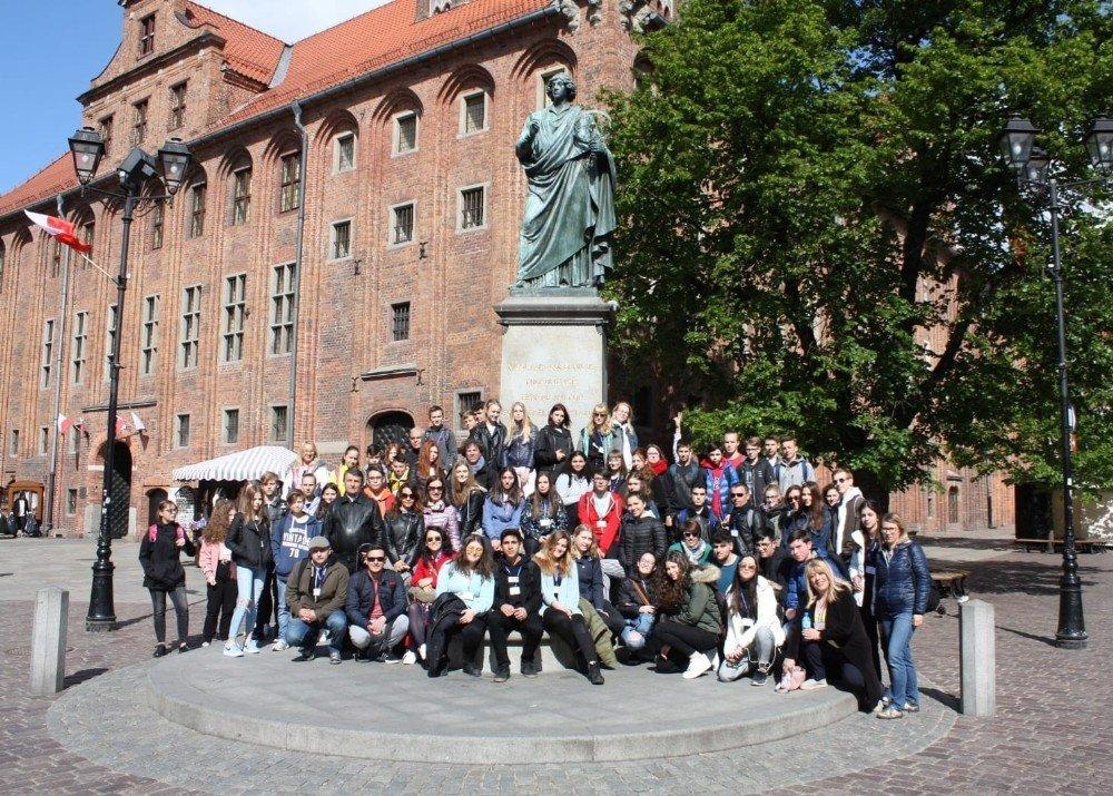 Pakmaya Anadolu Lisesi'nden Polonya'ya Eğitim Ziyareti